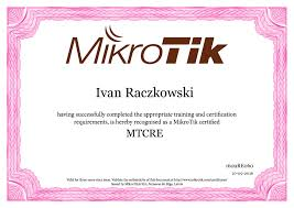 ivan raczkowski network and it support this course covers the basics skills of routeros configuration which is very useful for those that are new to mikrotik routeros
