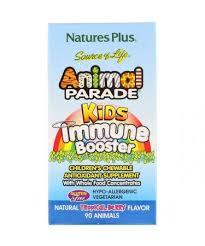 Nature's Plus <b>Source of Life Animal</b> Parade Kids Immune Booster ...