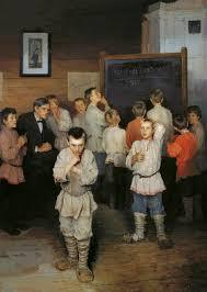 Картина «Устный счет» <b>Богданова</b>-Бельского | Блог 4brain