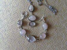 <b>Rose Quartz</b> Silver Plated Fine Necklaces & Pendants for sale | eBay