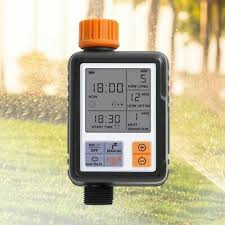 Automatic Electronic <b>Water Timer LCD Screen</b> Sprinkler Controller ...