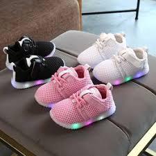 Newborn Toddler Baby Boys Girls Kids Luminous Sneakers ... - Vova