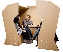 environmentally cardboard office