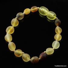 Mix <b>Raw</b> BEANS Baby <b>teething Baltic amber</b> bracelet