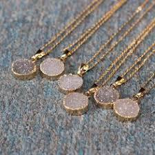 <b>Natural</b> Druzy Necklaces, Druzy Jewelry, Crystal Druzy, aunt gift ...