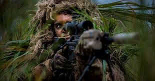 Army and <b>special</b> operations <b>snipers</b> put new <b>ghillie</b> suit to the test
