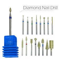 """<b>1pcs</b> Diamond <b>3</b>/<b>32"""" Shank Nail</b> Art Electric Drill Bit Rotate Burr ..."""