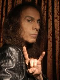 Ronnie James Dio. Real/full name: Ronald James Padovana; Age: 67 (born Jul 10th, 1942); R.I.P.: May 16th, 2010; Died of: Stomach cancer - 4282_artist