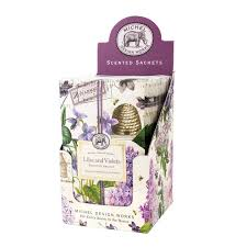 <b>Michel Design Works Lilac</b> and Violets Scented Sachet | Kittery ...