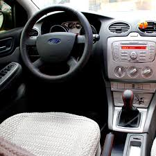 Кожаные <b>оплетки</b> руля, кпп, ручника на Ford Focus 2