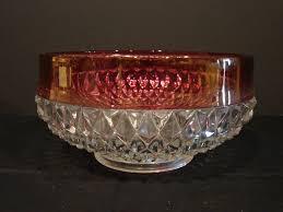 Glassware Cranberry <b>Diamond Pattern</b> Quality Glass Tealight Votive ...