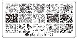 <b>Planet Nails</b>, <b>Пластина для</b> Stamping Nail Art (25 видов) - 09 | www ...