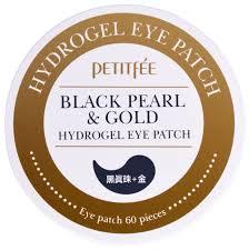 Petitfee <b>Гидрогелевые патчи</b> с экстрактом чёрного жемчуга и био ...
