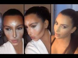 how to contour and highlight with cream foundation makeup for beginners