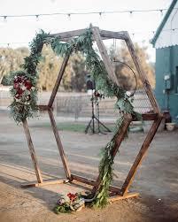 Image result for making a <b>hexagon wedding arch</b> | <b>Weddings</b> in ...