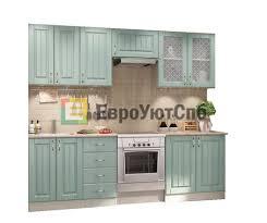 Прямая <b>кухня Изабелла</b> 2400 мм (ясень зеленый) купить в Санкт ...