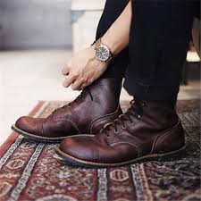 Men <b>Vintage Genuine Leather</b> Ankle Boots – gerilland