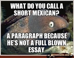 What Do you call a short mexican? - Memestache via Relatably.com