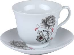 <b>Чайная пара Rosenberg</b> RPO-255110, белый, <b>270</b> мл — купить в ...