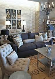 gray and silver living room lots of elements tile concrete wallpaper casual living room lots