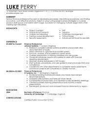 sample resume template finance resume sample information sample resume example resume template for senior finance professional experience sample resume template