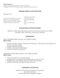 sample job resume experience sample resume format for fresh sample job resume experience bank teller resume objective sample job and template experience bank teller