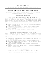 sample hvac resume  sample hvac resume examples  hvac service    sample hvac resume