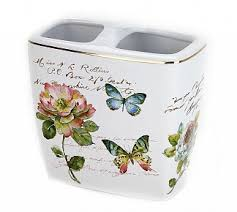 <b>Стакан</b> для зубных щеток <b>Avanti Butterfly</b> Garden 13882B – купить ...
