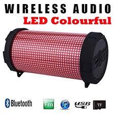Portable Audio & Headphones <b>LED Portable Mini</b> Bluetooth ...