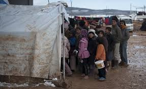 Image result for refugees camps in jordan