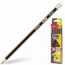 Купить <b>Карандаши чернографитные MAPED</b> (Франция), НАБОР ...