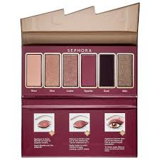 <b>Sephora Collection Flash Sequins</b> Miniature Palette 02 Brown ...