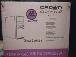 Обзор от покупателя на Корпус <b>Crown</b> Micro CMC-SM603 black ...