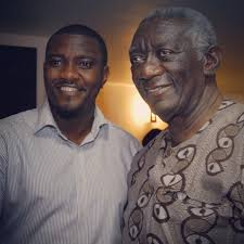 ... Happy birthday, John Dumelo ... - John-Dumelo-and-former-Ghana-President-John-Kufuor