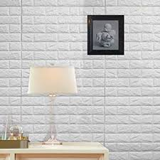 Wall Stickers 10PCS 3D Brick, PE Foam Self ... - Amazon.com