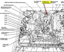 1989 ford f 250 a manual glow plug relay graphic