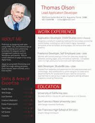 custom resume design   resumebaker comexecutive in red – the professional resume