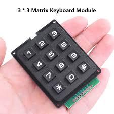 Online Shop <b>1PC 3x4 4x4 Keys</b> Switch Control Matrix Array 12/16 ...