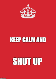 Keep calm and carry on... - Imgflip via Relatably.com