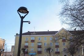 В Череповце установили первый «умный» <b>фонарь</b>