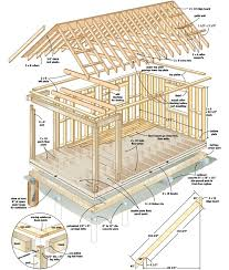 Build This Cozy Cabin For Under     Home Design  Garden    log cabin plan