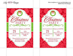 christmas party invite template  cimvitation christmas party invite template is the newest and best concepts of charming party invitations 12