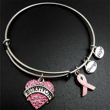 <b>my shape</b> Pink Ribbon Breast Cancer Survivor Charm <b>Stainless</b> ...