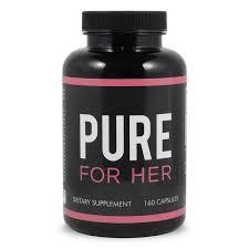 <b>Pure</b> for Her Fiber Supplement for <b>Women</b> - <b>Pure</b> for <b>Men</b>
