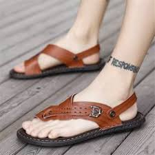 Vintage Casual Beach Sandals in 2019 | Men's Shoes | Shoes ...
