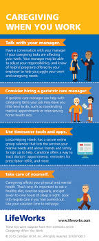 infographic 4 strategies for balancing work caregiving caregiving infographic page 001