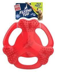 Купить <b>Игрушка</b> для собак <b>GiGwi Flying Tug</b> (75361) красный по ...