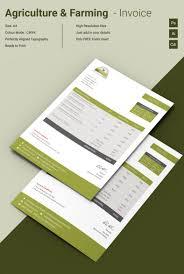 agri farming invoice template premium templates agri farming invoice template