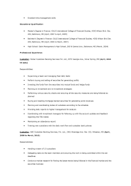janitor resume description janitorial resume objectives  resume    smlf