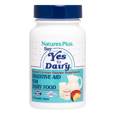 <b>Say Yes to Dairy</b> Chewable Natural Lactase Enzyme | Naturesplus ...